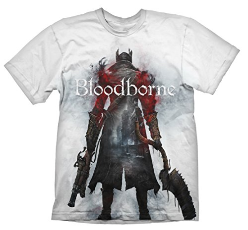 Bloodborne T-Shirt Hunter Street White XXL