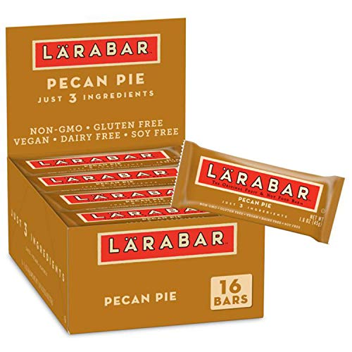 Larabar Fruit and Nut Bar, Pecan Pie, Gluten Free, Vegan, 16 ct, 25.6 oz