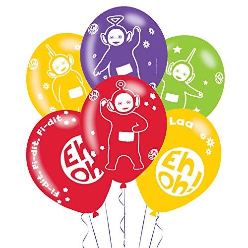Amscan International 9901383 28 cm Les Télétubbies 4 Face Latex Ballon