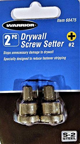 Drywall - Juego de 2 tornillos
