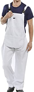 Bib and Brace Navy Blue Cotton Drill Coverall