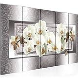Cuadro Flores Orquídea Impresión de arte Cuadro in Lienzo no Tejido Sala Dormitorio 205456b