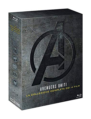 Marvel Avengers Collezione 1-4 (5 Blu Ray)