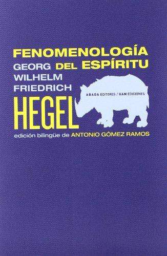 Fenomenologia Del Espiritu (LECTURAS DE FILOSOFÍA)
