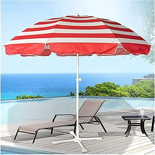 SJBD-Coaster Sombrillas de Patio al Aire Libre Sombrilla de Patio Plegable Sombrilla de Playa Adecuado para Restaurante, Patio, Playa, césped, terraza, Backya (Net)