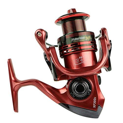 Nostalgie Carrete de Pesca 4.7: 1/5.5: 1 Carretes de Pesca de Agua Salada 13 + 1BB Metal Completo para el Alimentador de Peces Baitcasting Reel Spinning Reels for Rod Super Suave