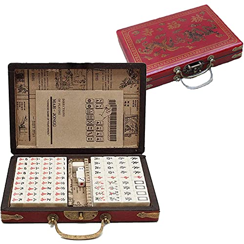 Conjunto Mah Jongg - Conjunto de Lujo Club Mahjong -