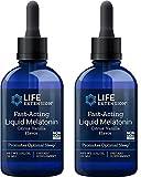 Liquid Melatonin Natural Citrus-Vanilla Flavor by Life Extension - 3mg- 2 Bottles