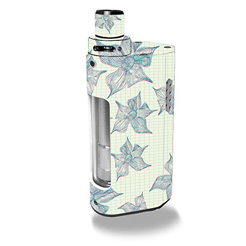 MightySkins Skin Compatible with Kanger CUPTI 2 – 3D Flowers   Protective, Durable, and Unique Vinyl Decal wrap Cover   Easy to Apply, Remove, and Change Styles   Made in The USA