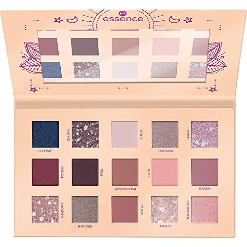 essence WITCH SIDE eyeshadow palette, Lidschatten, mehrfarbig, langanhaltend, matt, schimmernd, scheinend, Nanopartikel frei, ohne Parfüm, ölfrei (19,5g)