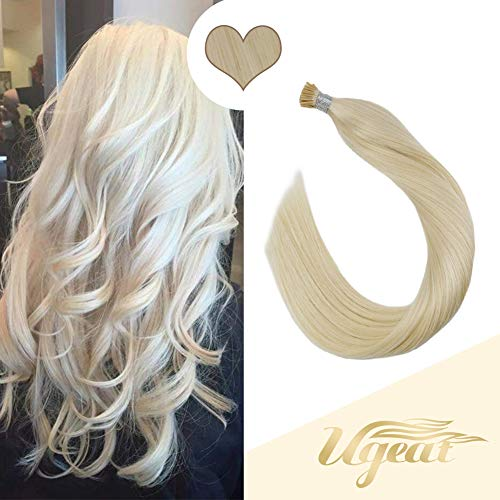 Ugeat 18inches Keratin Tipped Human Hair Extensions
