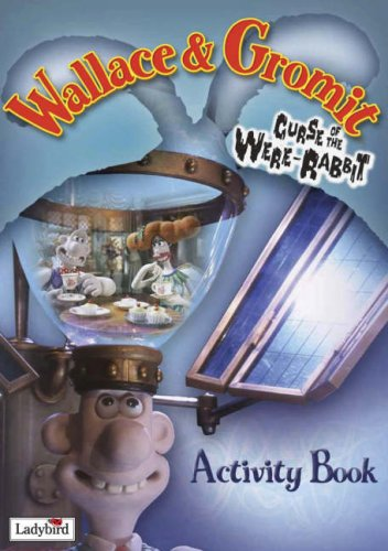 Wallace & Gromit Curse of the Were-Rabbit Activity Book