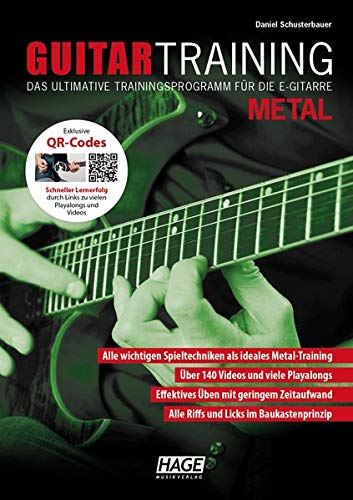 Guitar Training Metal (mit QR-Codes): Das ultimative Trainingsprogramm für die E-Gitarre