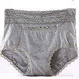 Pantalon d'incontinence adulte réutilisable pour femmes, personnes âgées physiologiques de la période menstruelle, pantalon d'incontinence Protection de sous-vêtements de couche en tissu,B,XXXXL