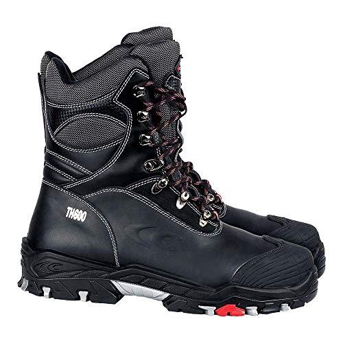 Cofra 25312-001 - Seguridad Invierno Bota S3 Bering Warm Up forrado con aislamiento Botas de trabajo Tamaño 42, Negro