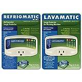 Two Electronic Surge Protector ComboRefrigmaticforRefrigerators andLavamaticfor Washing Machines