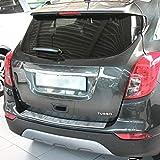 Recambo CT-LKS-1830 Protección para el Borde de Carga de Acero Inoxidable Mate para Opel Mokka X, Chevrolet Trax, 2012, Large