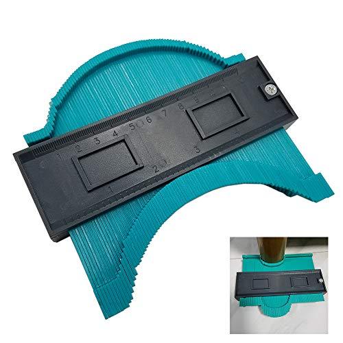 ZIXUAN 5-Zoll-Konturmessgerät, Premium-Konturprofilmessgerät, Holzkennzeichnungs-Werkzeug Fliesen Laminatfliesen Allgemeine Werkzeuge, DIY-Konturmessgerät