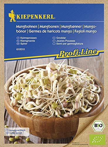 Keimsprossen Mungobohnen (Bio-Saatgut)
