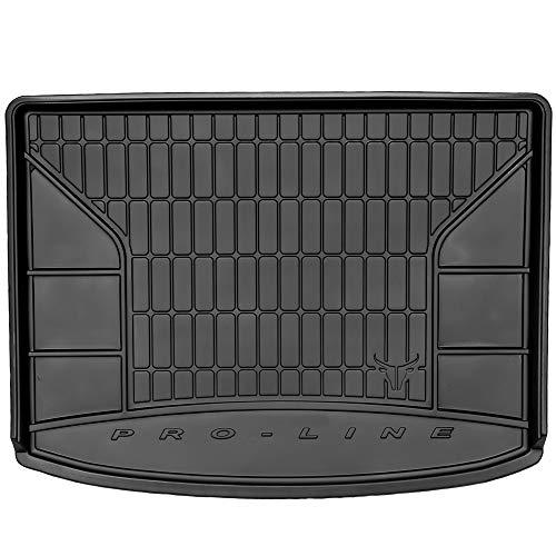 DBS Tapis de Coffre Auto - sur Mesure - Bac de Coffre pour Voiture - Rebords Surélevés - Caoutchouc Haute qualité - Antidérapant - Simple d'entretien - 1766537