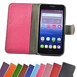 ikracase Hülle für Alcatel One Touch Pop Star 5070D Handy Tasche Case Schutzhülle in Pink-Hot