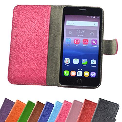 ikracase UMIDIGI Diamond X Smartphone/Slide Kleber Hülle Case Cover Schutz Cover Etui Handyhülle Schutzhülle YT in Pink-Hot