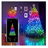 2PCS Christmas Tree Decoration Lights, Smart App Controlled Christmas Lights(alexa & Google Home Compatible), for Christmas Tree Garden Decoration Custom Led String Lights (C)