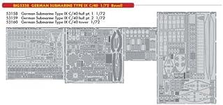 (edbig5338)–Eduard Big Ed Set 1: 72–U-Boat Tipo IX C/40(Rev)