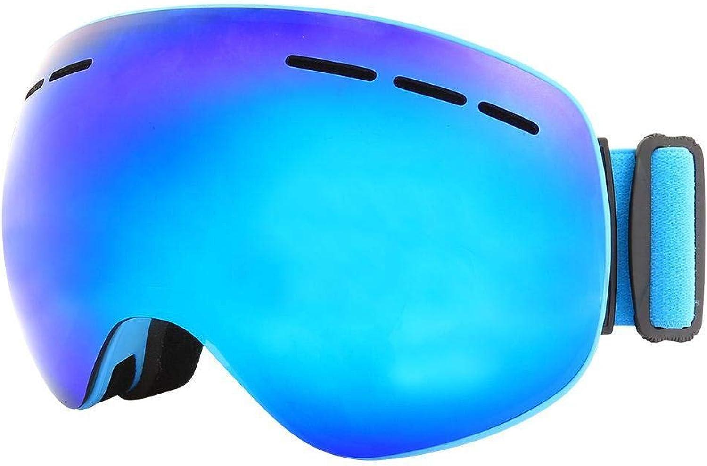 Ludage Gute sportbrillen Magnetische Spiegel Ski Antifog mnnlichen und weiblichen groen Doppelkugel Spiegelflche Wandern Brille einsetzbar