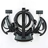 Updated Wall Mount Stand and Organizer for Oculus Quest 2 & Oculus Rift S & Valve Index &Oculus Quest 1 Gen &HTC Vive Pro