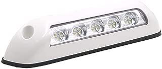 Gloaso RV 12V dc 2.6W LED Awning Lights Bar Porch Lamp 6000K White for Caravan Boat Marine Trucks Motor-Home RV Camping (White Shell)