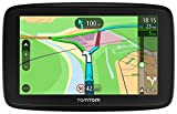 TomTom Car Sat Nav VIA 53, 5 Inch with Handsfree Calling, Updates via WiFi, Lifetime Traffic via Smartphone and EU Maps, Smartphone Messages, Capacitive Screen