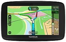 TomTom Via 53 EU-Traffic Navigationsgerät (13cm (5 Zoll), Updates über Wi-Fi, Smartphone-Benachrichtigungen, Lebenslang Karten-Updates (Europa), Lebenslang TomTom Traffic)©Amazon