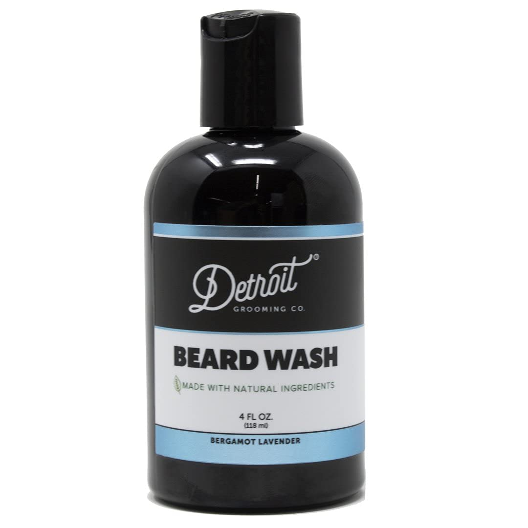 Detroit Grooming Co. 55% OFF Beard Wash Lavender Bergamot - Scented Don't miss the campaign and