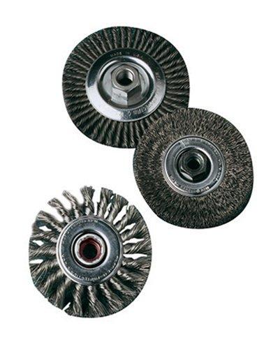 United Abrasives- SAIT 06428 4' x .014 x M10 x 1.25 Arbor Carbon Bristle...