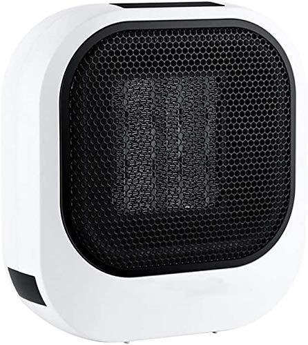 CMmin Tragbare Elektrische Einstellbare Thermostat-Lüfte Kleiner Raum Personal Mini-Heizung Winter Hocheffizienz-Schnellwärmebüro Bequemer TIPP- und Überhitzungsschutz
