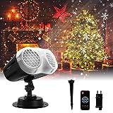 Proiettore Luci Natale LED, FOCHEA Proiettore...