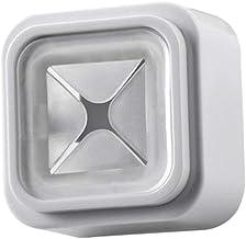 Cozinha Banheiro Quadrado Auto-adesivo Prato De Mão Toalha De Chá Titular Cabide - Claro