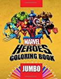 Marvel Heroes JUMBO Coloring Book: Coloring Book for Kids and Adults (Perfect for Children Ages 4-12)