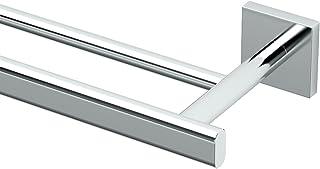 "Gatco 4054 Elevate 24"" Double Towel Bar, Chrome"