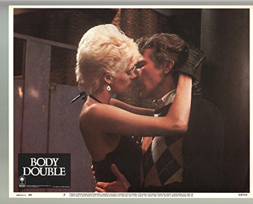MOVIE POSTER: Body Double-Melanie Griffith-Craig Wasson-Color-Lobby Card-11x14