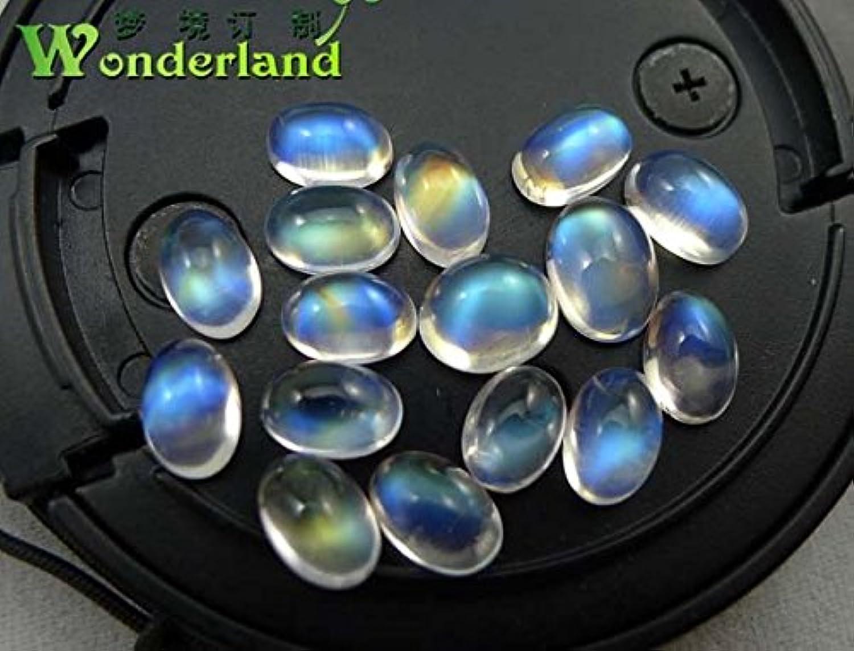 Full Length Native net Body Dancai Hong Moon Month Strong Fluorescent color Po Elliptical Ring Necklace Pendant LuoShi