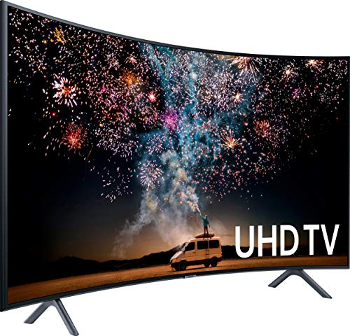 Samsung UE49RU7379 123 cm (49 Zoll) Fernseher (Curved, Ultra HD, HDR, Triple Tuner, 1500 PQI, Smart TV)
