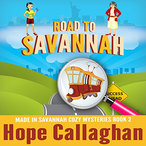 Road to Savannah audiobook cover art