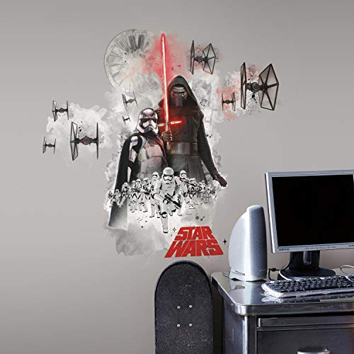 RoomMates RMK3080GM - Pegatinas de pared, diseño Star Wars Villanos Episodio 7
