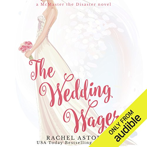 The Wedding Wager audiobook cover art