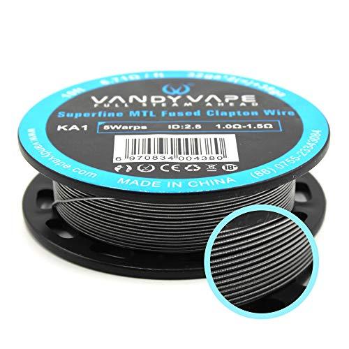 Kanthal A1 Superfine MTL Fused Clapton 32ga*2(=)+38ga Wire Draht Vandyvape RBA, RTA Vandy Vape E Zigarette