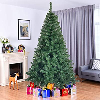 US Fast Shipment 6Ft Green Christmas Tree Eco-F...