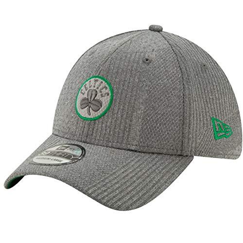 New Era Gorra 39Thirty Training CelticsEra de Baseball NBA Cap (S/M (54-57 cm) - Antracita)