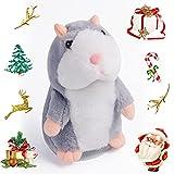 Talking Hamster Plush Interactive Toys,...